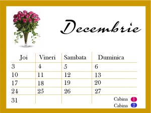 Calendar evenimente colourblitz.ro, cabina foto